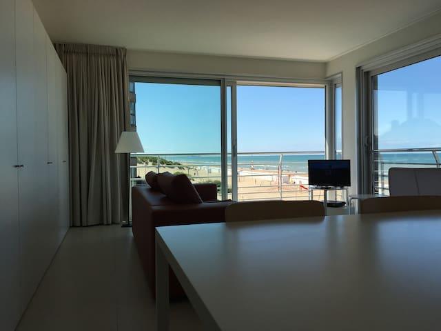Belgian upscale ocean front  condo - Koksijde - Appartement en résidence