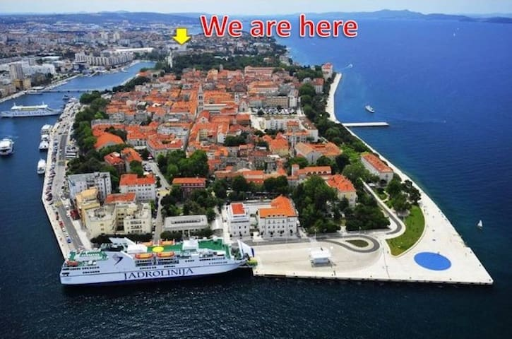 Unforgettable view - Zadar - Apartment