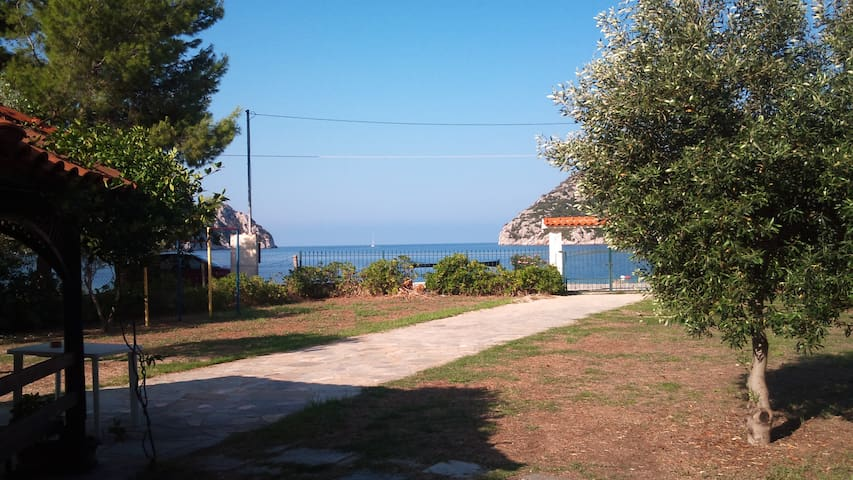 Beachfront dream house @Halkidiki - Porto Koufo - Talo