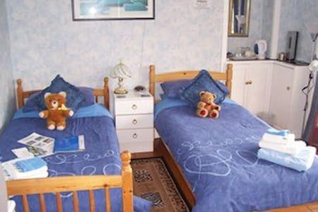 Twin en-suite room with full cooked breakfast. - Alexandria