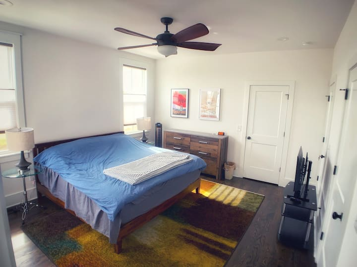 Peace, quiet, and comfort, close to downtown!