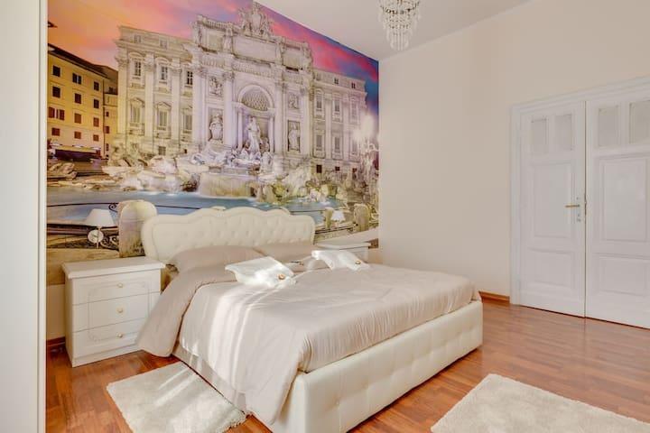 Room Fontana di Trevi near Termini