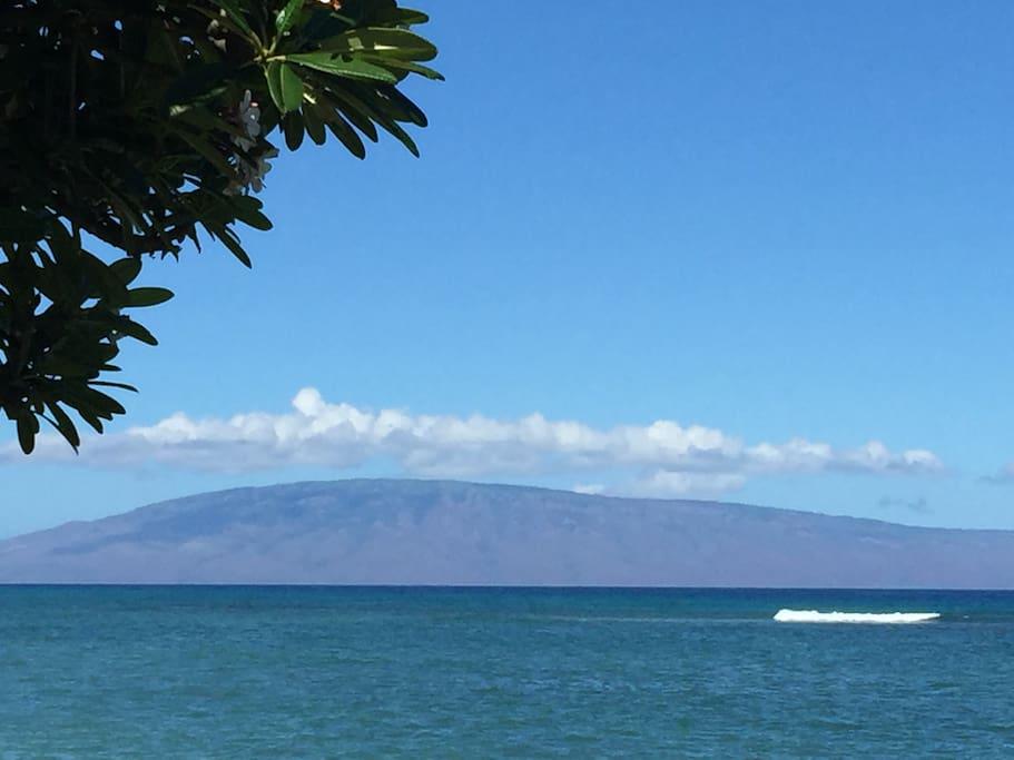 View of Moloka'i