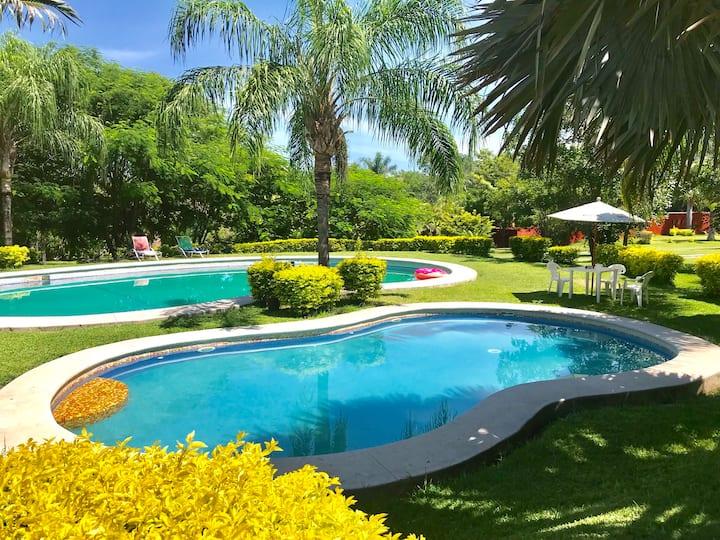Jardín Rancho las Palmas 7