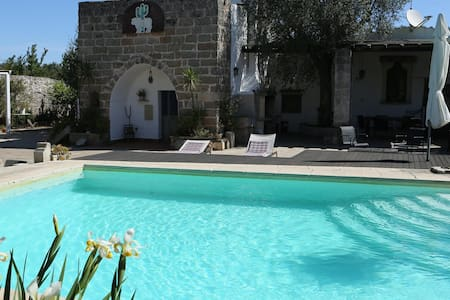 Lovely Poolside Farmhouse - Corigliano d'Otranto