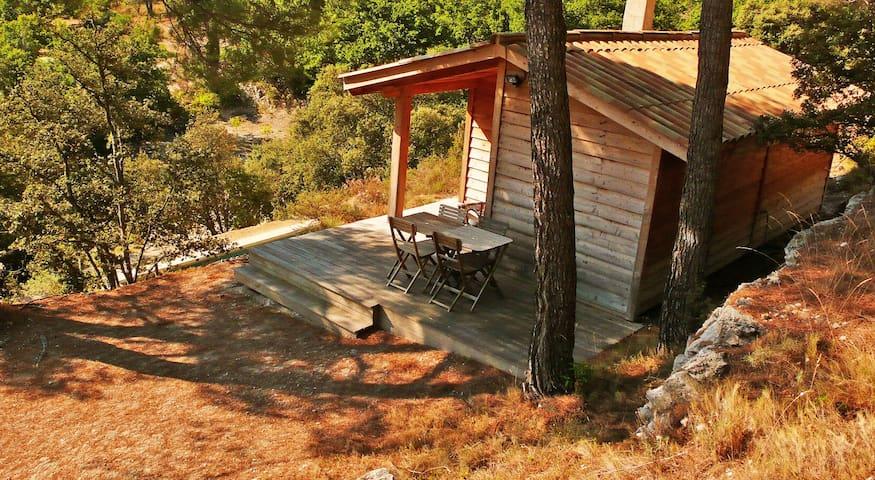 Cabane de charme, tout confort avec vue. - Le Beaucet - Kulübe