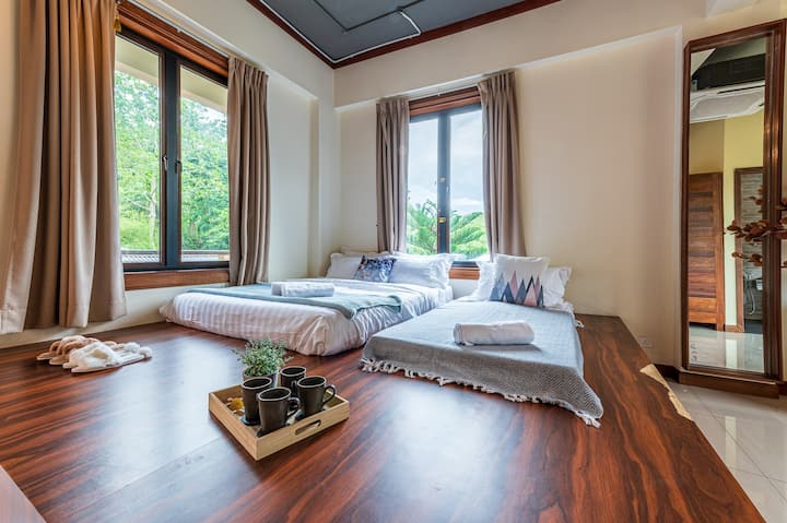 Bentong Eco Wellness Resort Deluxe Room 5PAX 100D