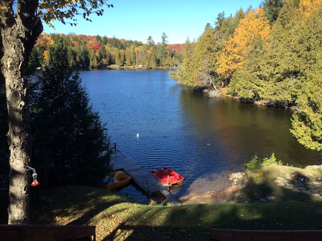 A  Little piece of Heaven 45min from Montreal. - Wentworth-Nord - กระท่อม