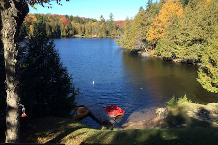 A  Little piece of Heaven 45min from Montreal. - Wentworth-Nord - Stuga