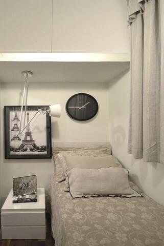 Quarto de hóspedes da Márcia - Uberlândia - Apartamento