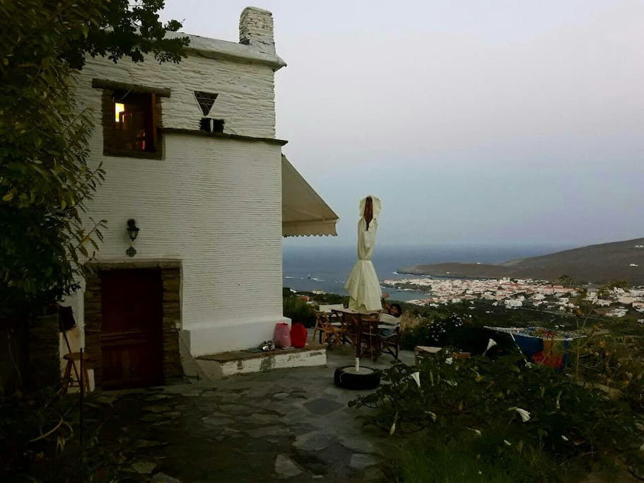 THE DOVECOTE AND THE VIEW