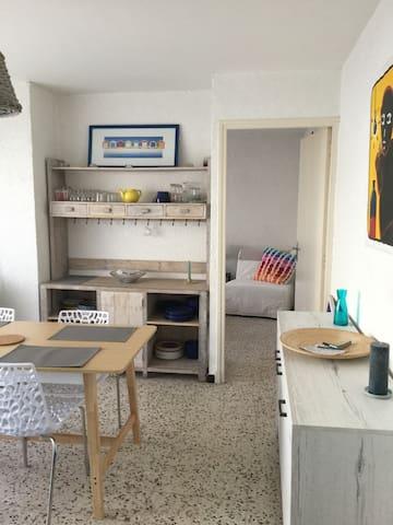Charmant appartement plage des Châlets