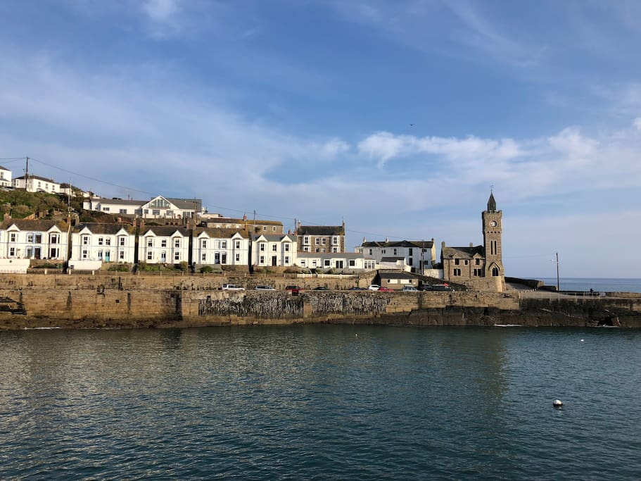 Porthleven's famous clock tower - 2 miles from the house.