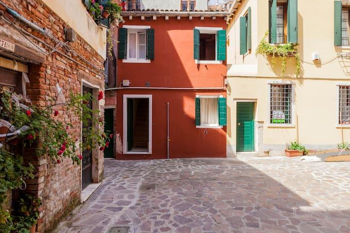 Venice, Fisherman's apartment,quit,Dorsoduro