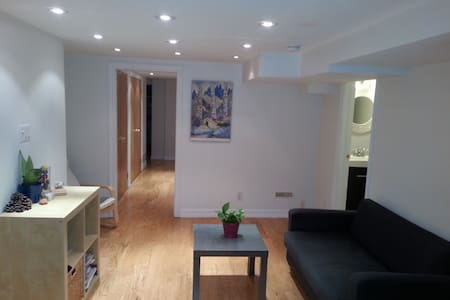 Bright Basement Suite with Full Kitchen and WIFI. - Toronto - Apartment