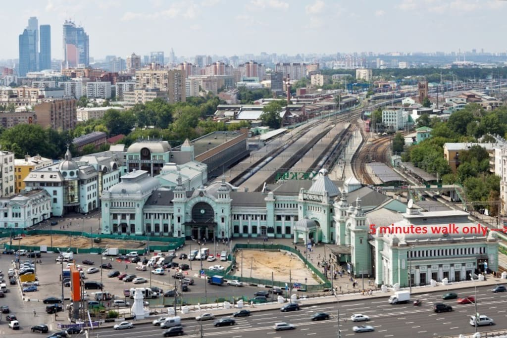 Only 5 min walk from Belorussky Rail Terminal (SVO) - Не проходим мимо нашего предложения! Броним! Вам точно у нас понравится! )))