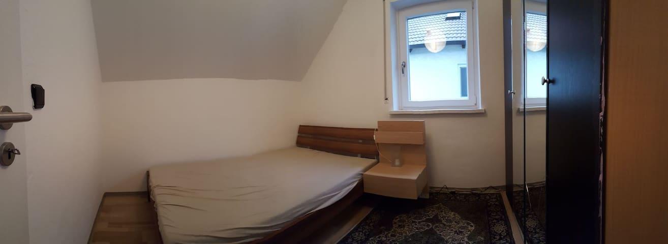 Ruhig, Donau-nah, verkehrsgünstig, 2 Personen #d - Regensburg - Haus