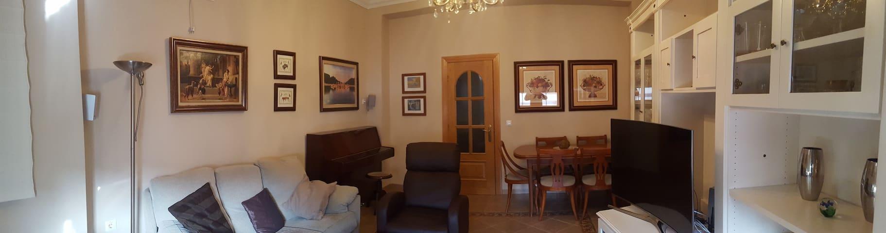 Apartamento en el Centro de Andalucía - Cuevas Bajas - Apartemen