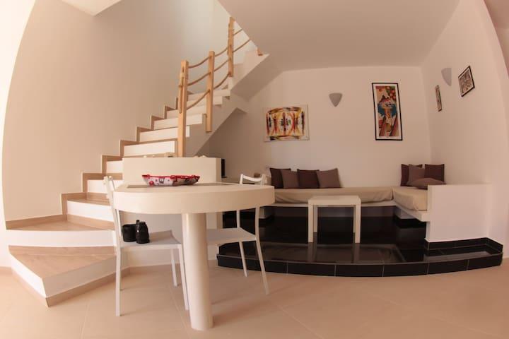 Apart-hotel : penthouse /solarium sea view