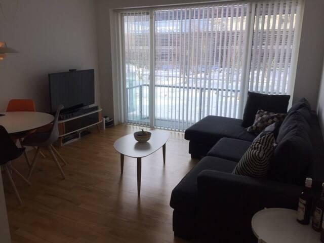 Modern flat in stylish Ørestad w/ great transport! - København - Apartment