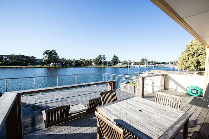 Port Fairy River Front   - River Haven Cottage