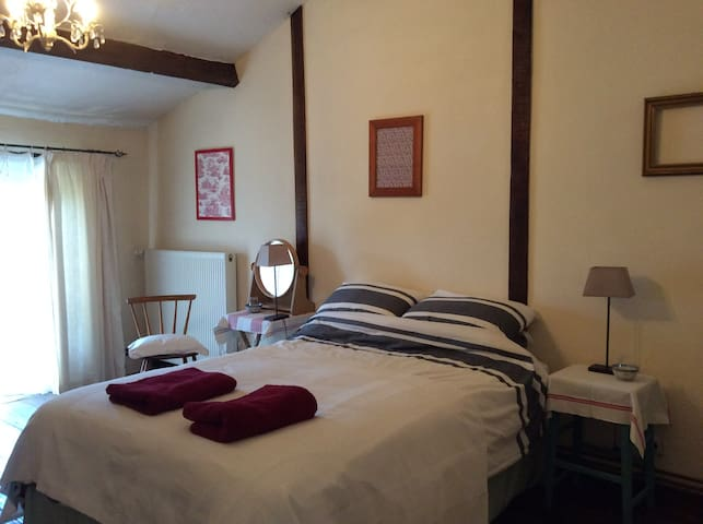 Double Bedroom on first floor Le Petit Gite