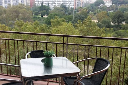 Lovely Room with private bathroom in the beach - Mataró - Ortak mülk