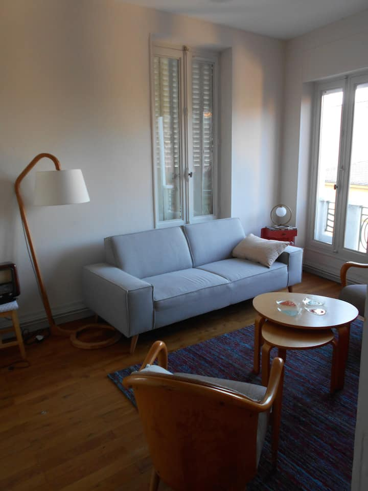 Plein centre  Valence: appartement cosy, lumineux