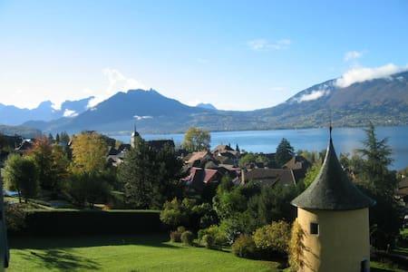 Lac d'Annecy, appartement meublé pour 6 personnes - Veyrier-du-Lac