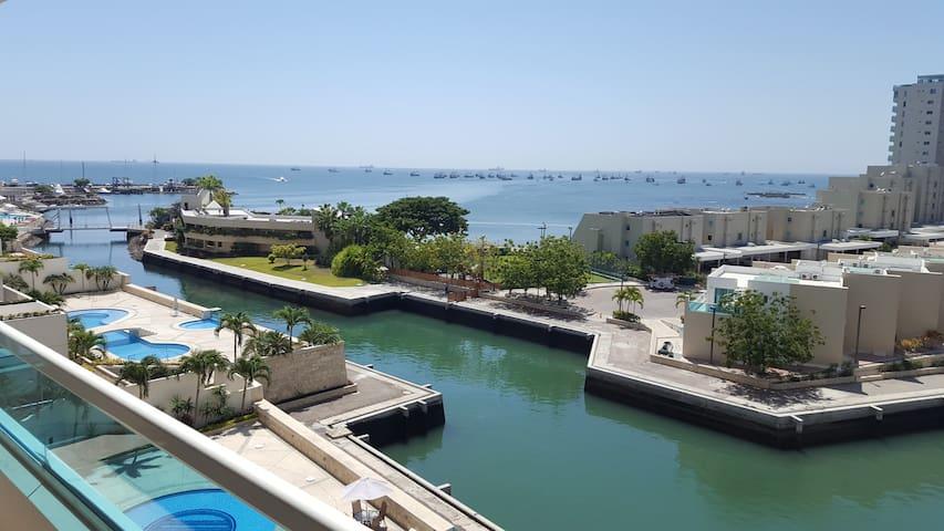 Salinas frente al mar, precioso departamento - La Libertad - อพาร์ทเมนท์