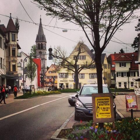 Quite location, 10 mins to downtown Stuttgart