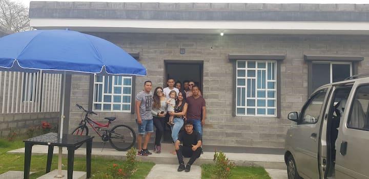 Casa para vacaciones  en Tonsupa y Atacames