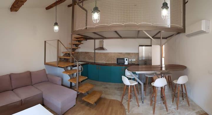 Appartement de l'abbatiale Arles - Saint Gilles