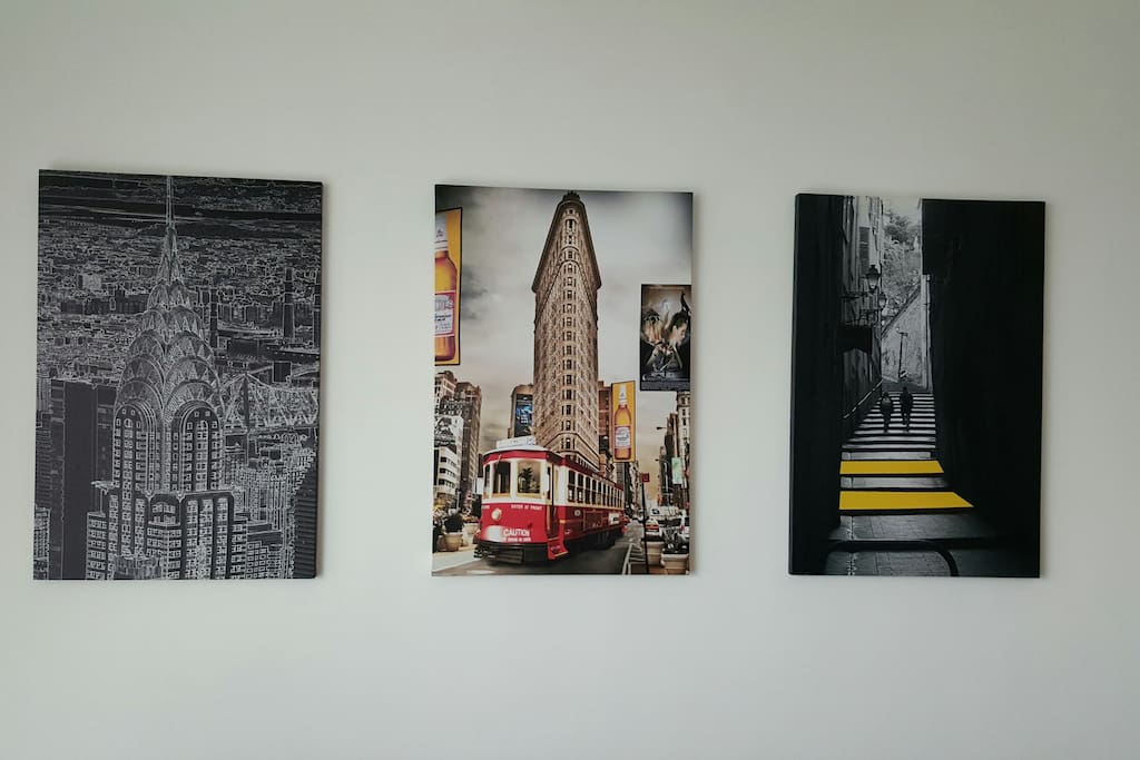 Living hall poster art