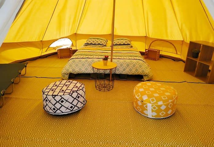 La TWIN tente Lodge