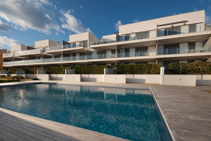 Lovely apartment with pool, Puerto Pollensa 555