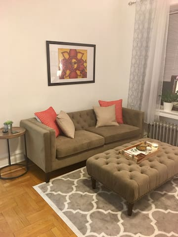 Entire cozy brooklyn apartment flats for rent in for Living room 86th street brooklyn ny