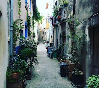 Byhus i Aniane, Languedoc - Aniane