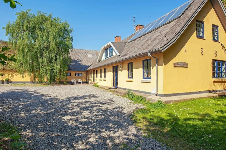 Cozy Holiday Home in Thyholm with Swimming Pool