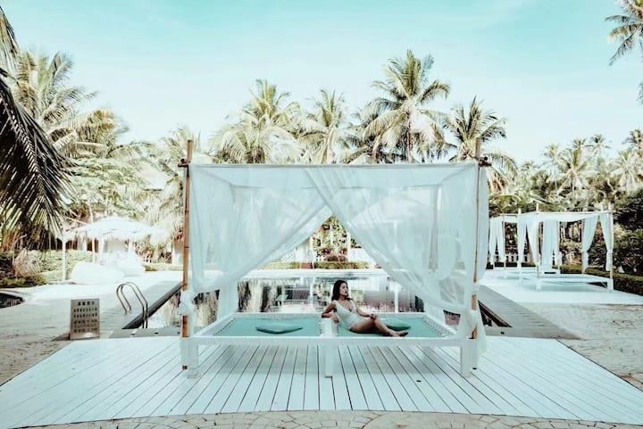阳光 · 海棠湾「比邻 重返自然」椰林静谧阳光房#亚特兰蒂斯#免税店#椰子洲岛
