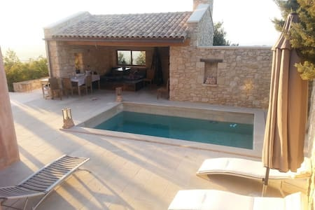 Stone-made private villa with pool! - Heraklion