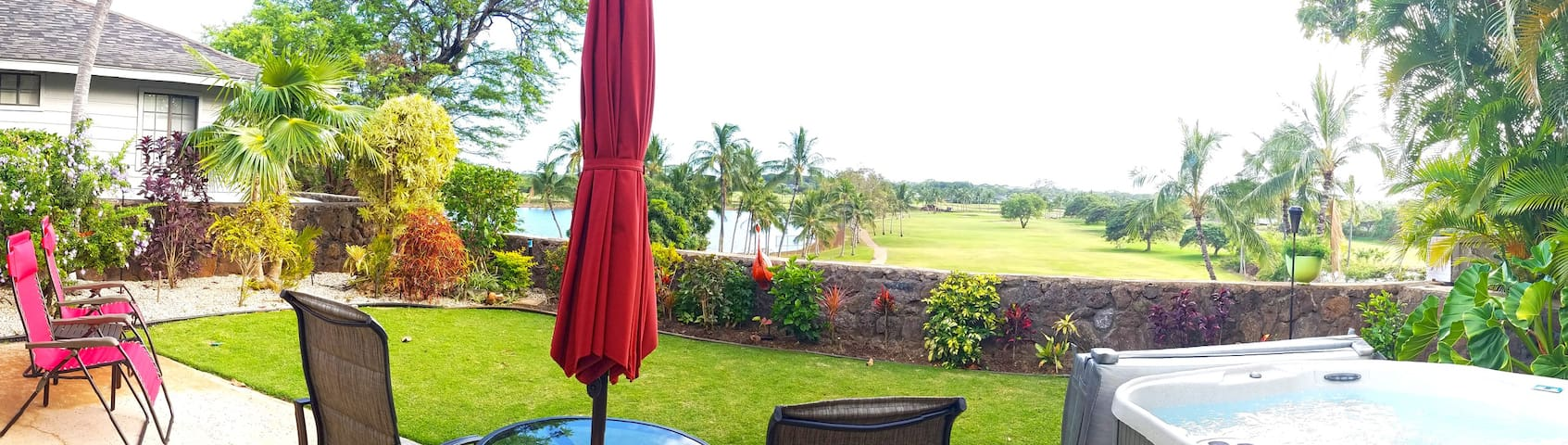 Private room overlooking golf course - Ewa Beach - House