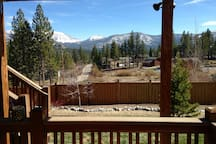 Back deck view.