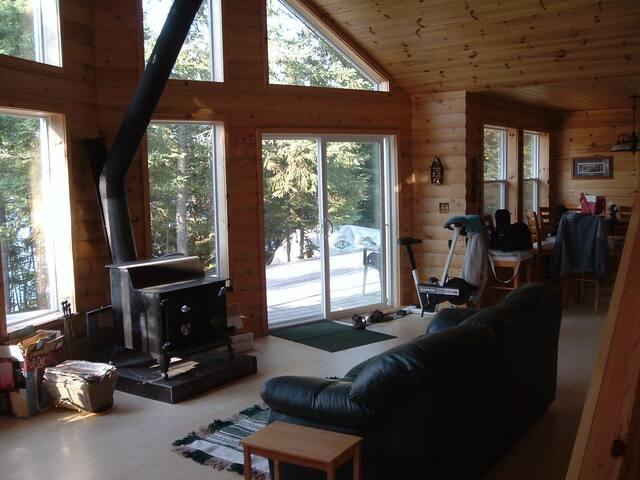 Island Cabin at Lake of the Woods - Kenora, Unorganized - กระท่อม