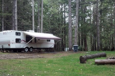 Private Island camping, on Puget Sound.  RV#2 - Lakebay