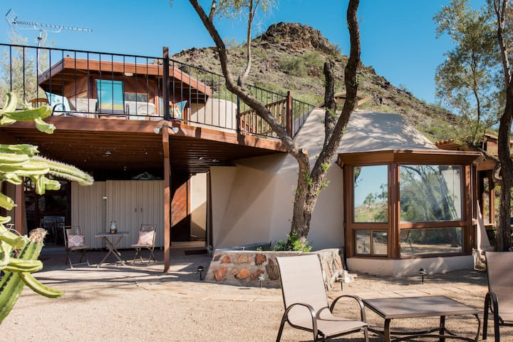 The Dome on the Range with Sweeping Mountain Preserve Views