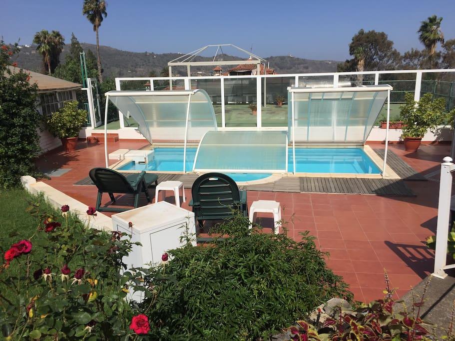 Fabulosa villa casa rural con piscina y barbacoa cottage - Villas en gran canaria con piscina ...