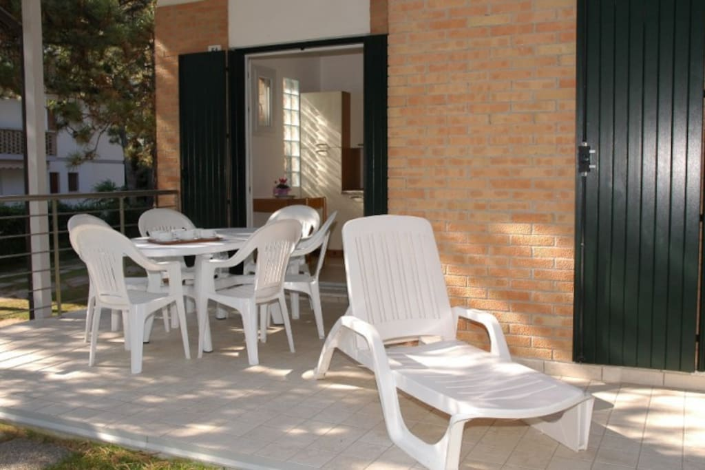 Terrazzo attrezzato   Furnished terrace