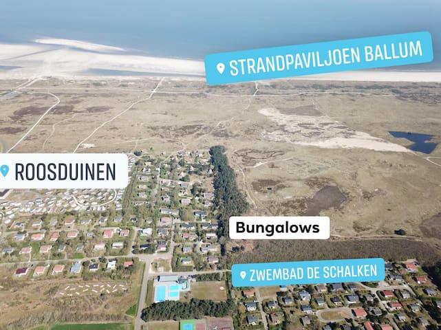 """Sonnenstrandhaus bei den Dünen Ballum """"Duikenburg"""""""