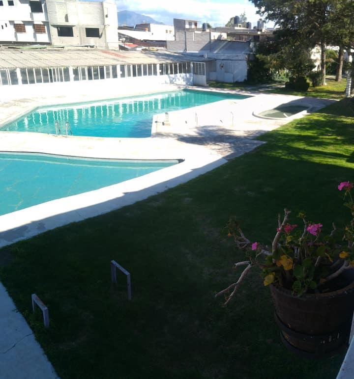 """Balneario, Hostal y Jardin de Fiestas """"El OLIVO"""""""